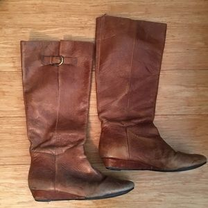Steve Madden Intyce tan boots